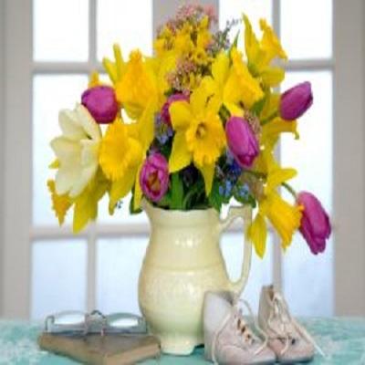 ساخت خلاقانه گلدان