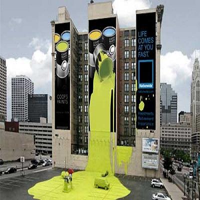 تبلیغات خلاقانه دز شهر