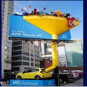 تبلیغات خلاقانه در شهر
